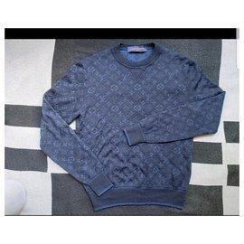Louis Vuitton-Pullover-Marineblau