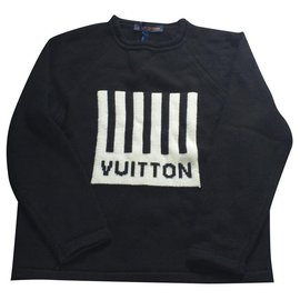 Louis Vuitton-Sweaters-Black