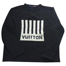 Louis Vuitton-Pullover-Schwarz