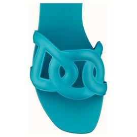 Hermès-Sandal Hermes-Blue