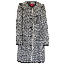 Lanvin-Manteaux, Vêtements d'extérieur-Multicolore