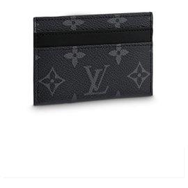 Louis Vuitton-lV card wallet-Grey