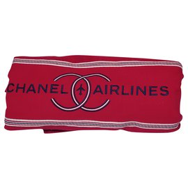 Chanel-Chanel towel: New Airline-Red,Blue,Dark red