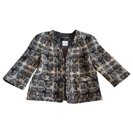 Chanel-Jackets-Black,Beige,Grey
