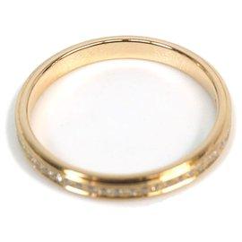 Cartier-Bague Cartier en or et diamant DAmour-Doré