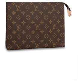 Louis Vuitton-LV Toiletry26 NEW-Brown