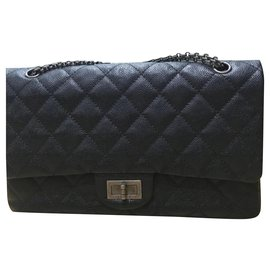 Chanel-Chanel 2.55 Reissue 227 sac classic-Noir