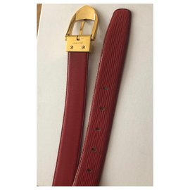 Louis Vuitton-Gürtel-Rot