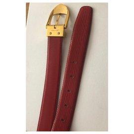Louis Vuitton-Belts-Red