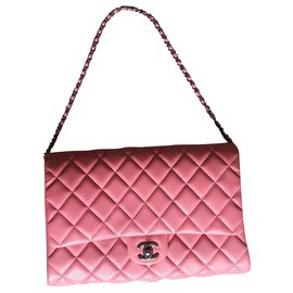 Chanel-TIMELESS-Pink,Coral