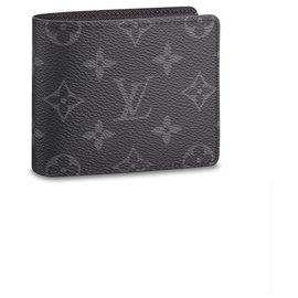 Louis Vuitton-Slender wallet new LV-Grey
