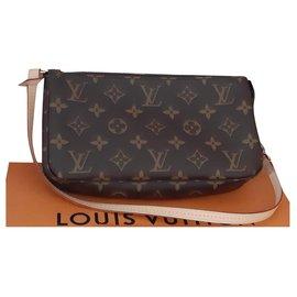 Louis Vuitton-Accessoires pochette Louis Vuitton Nm-Marron