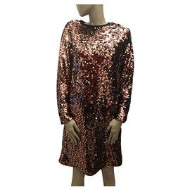Alexander Mcqueen-Sequin dress-Multiple colors