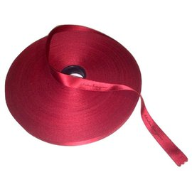 Salvatore Ferragamo-SALVATORE FERRAGAMO reel of ribbon-Dark red