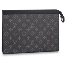 Louis Vuitton-LV Pochette Voyage MM-Grey