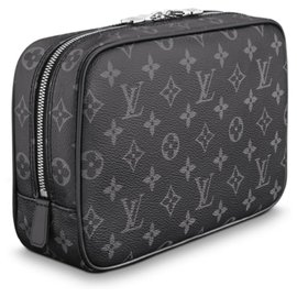 Louis Vuitton-LV Trousse Toilettenartikel GM-Grau