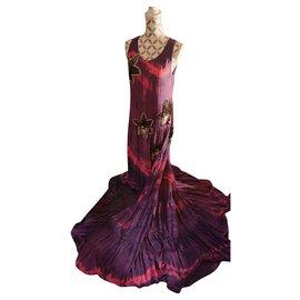 Balmain-Robes-Rose