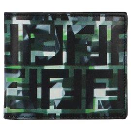 Fendi-Fendi camouflage wallet-Other