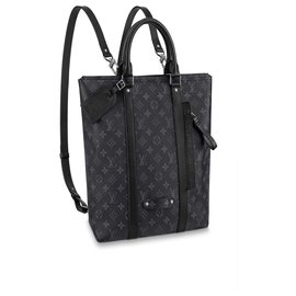 Louis Vuitton-Backpack LV new-Grey