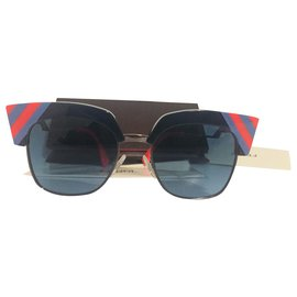 Fendi-Sunglasses-Red,Blue,Multiple colors