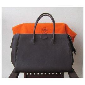 Hermès-Paris Bombay-Marron foncé