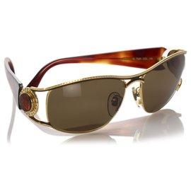Fendi-Fendi Brown Tinted Sunglasses-Brown,Dark brown