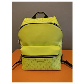 Louis Vuitton-Discovery Backpack-Yellow