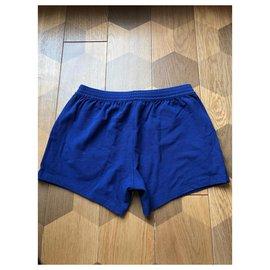 Dsquared2-Dsquared2 Herren Lounge Shorts-Blau