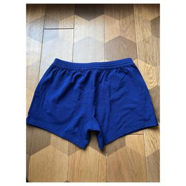 Dsquared2-Dsquared2 men's lounge shorts-Blue