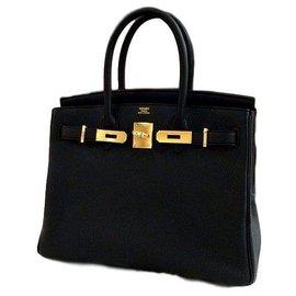 Hermès-Birkin 30 Hermes-Black