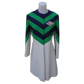 Gucci-Manteaux, Vêtements d'extérieur-Vert,Écru,Bleu Marine