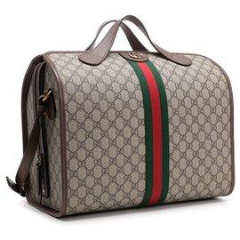 Gucci-Sac de sport Gucci Ophidia neuf-Marron