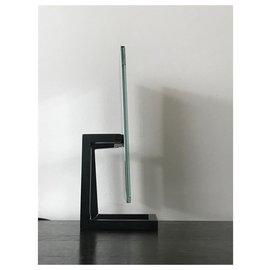 Chanel-Miroir de comptoir-Noir,Blanc