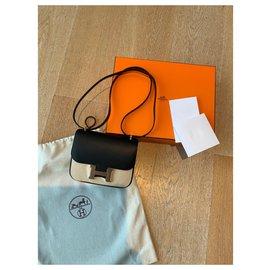 Hermès-Hermès Constance mini III-Black