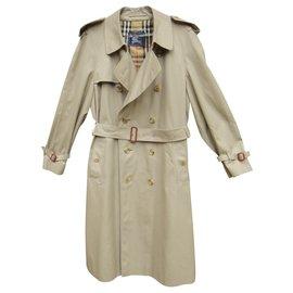 Burberry-Herren Burberry Vintage T Trenchcoat 52 Zustand wie neu-Beige