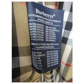 Burberry-men's Burberry vintage t trench coat 52 State like new-Beige
