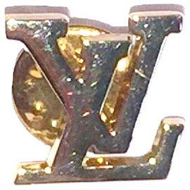 Louis Vuitton-LOUIS  VUITTON épingle de veste MONOGRAM-Doré