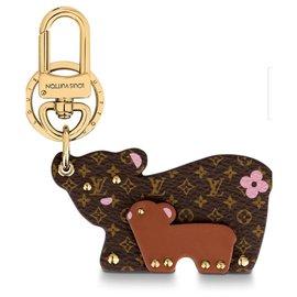 Louis Vuitton-Breloque sac ours LV-Autre