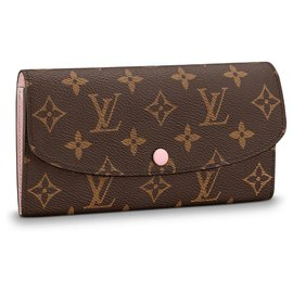 Louis Vuitton-Portefeuille Emilie LV nouveau-Marron