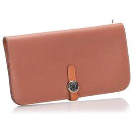 Hermès-Hermes Orange Dogon GM-Orange