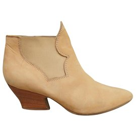 Acne-acne p boots 37-Yellow