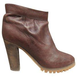 Chloé-Chloé p boots 38,5-Dark brown