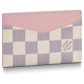 Louis Vuitton-Porte-cartes LV neuf-Beige