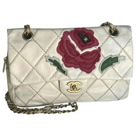 Chanel-Timeless Medium Flap Bag Limited-Beige,Cream