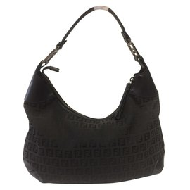 Fendi-Shoulder-Black