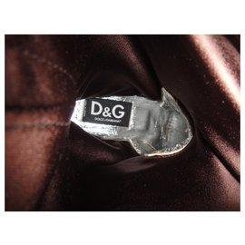 Dolce & Gabbana-Dolce & Gtabbana p Stiefel 39-Dunkelbraun