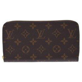 Louis Vuitton-Louis Vuitton Zippy Wallet-Marron
