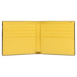Fendi-Fendi leather wallet-Black