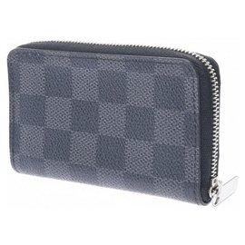 Louis Vuitton-Porte-monnaie Louis Vuitton Zippy-Noir