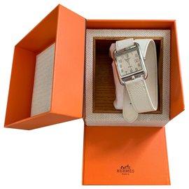 Hermès-Hermes Cape Cod Uhr gefütterte Tour GM Automatik-Roh